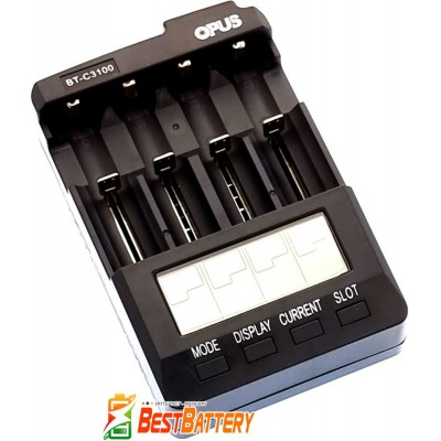 Универсальное зарядное устройство Opus BT-C3100 v2.2 - обновленная прошивка версии 2.2.