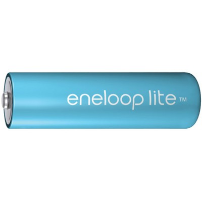 Пальчиковые аккумуляторы Panasonic Eneloop Lite 1000 mAh (min 950 mAh) версии BK-3LCCE поштучно. Цена за 1 шт.