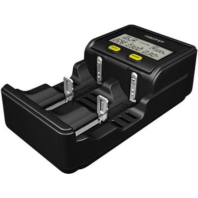 Зарядное устройство Miboxer C2-4000 с дисплеем для Li-Ion, IMR, LiFePO4, Ni-Mh и Ni-Cd аккумуляторов. Ток до 1,5А.