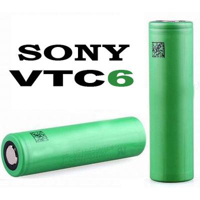 Аккумулятор 18650 Sony / Murata US18650 VTC6 3120 mAh, Li-Ion 3.7В. Высокотоковый - 30А (80A). Оригинал.