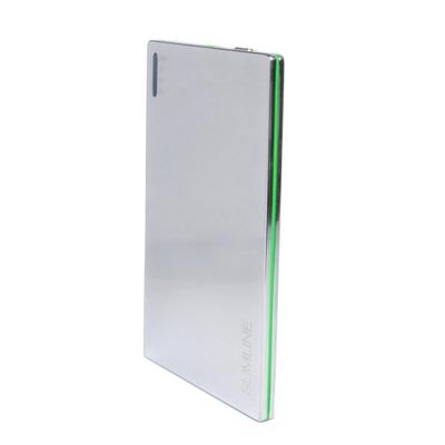 Мобильный аккумулятор Extradigital SLIMLINE chrome