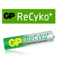 Минипальчиковые аккумуляторы GP ReCyko (ААА) - низкосаморазрядные (LSD) аккумуляторы нового поколения.