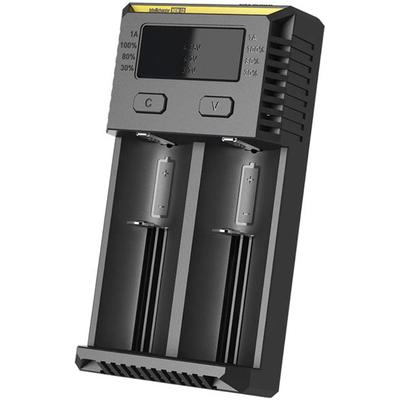 Универсальное зарядное устройство Nitecore Intellicharger NEW i2 для Li-Ion / IMR, Ni-Mh / Ni-Cd аккумуляторов.