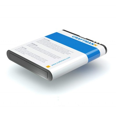 Аккумулятор Craftmann для Nokia N95 8GB (BL-6F). Ёмкость 1150 mAh.