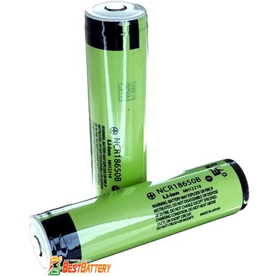 Аккумулятор 18650 Panasonic NCR 18650B 3400 mAh, 3,7В (4,2В), 6,8А Li-Ion С Защитой (Protected). Оригинал.