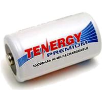Аккумуляторы типа D (аккумуляторы R20) ёмкостью 8000 - 10 000 mAh.