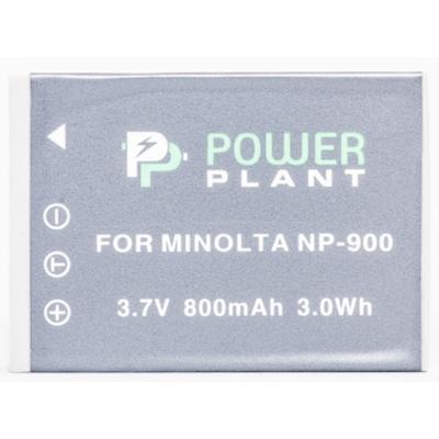 Aккумулятор PowerPlant Minolta NP-900, Li-80B