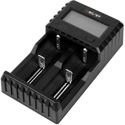 Зарядное устройство Miboxer C2-3000 с дисплеем для Li-Ion, Ni-Mh и Ni-Cd аккумуляторов. Ток 1,5А на канал.