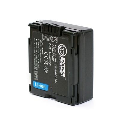 Аккумулятор Panasonic VW-VBD070, CGA-DU07