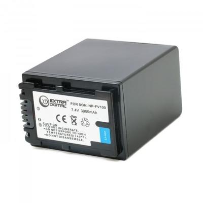 Аккумулятор для Sony NP-FV100, Li-ion, 3900 mAh (BDS2674)