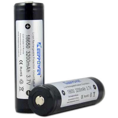 Аккумулятор 18650 KeepPower 3200 mAh с платой защиты (внутри Корейский элемент LG).