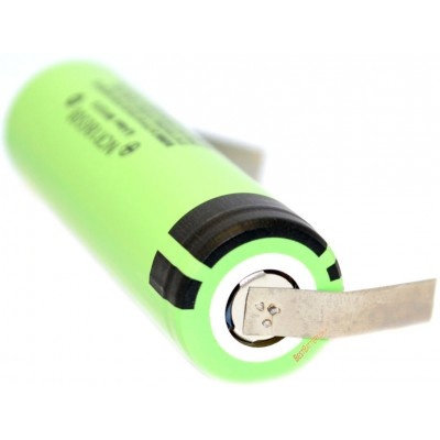 Аккумулятор 18650 Panasonic NCR 18650B 3400 mAh 3,7В с лепестками под пайку, Li-Ion без защиты.