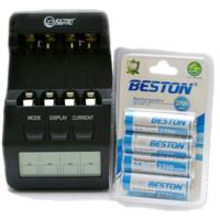 Комплекты: зарядное устройство + аккумуляторы