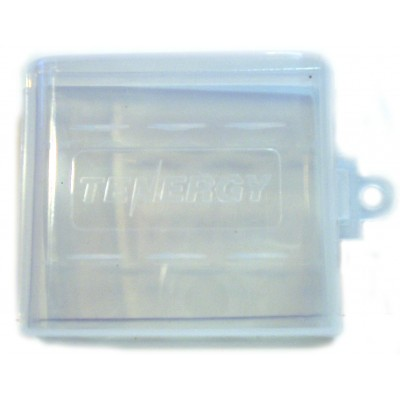 Фирменный пластиковый бокс Tenergy на 4 пальчиковых (АА) аккумулятора.