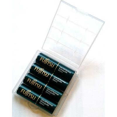 Пальчиковые AA аккумуляторы Fujitsu Pro 2550 mAh (min 2450 mAh) в боксе, версия HR-3UTHC. Аналог Eneloop Pro. Цена за уп. 4 шт.