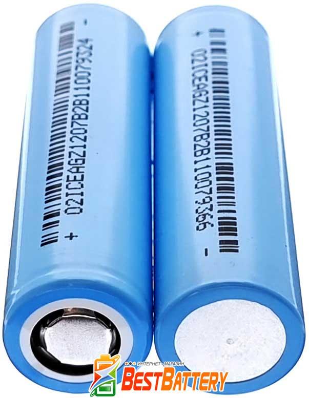 DLG NCM 18650 2600 mAh - промышленные Li-ion аккумуляторы формата 18650 без платы защиты.