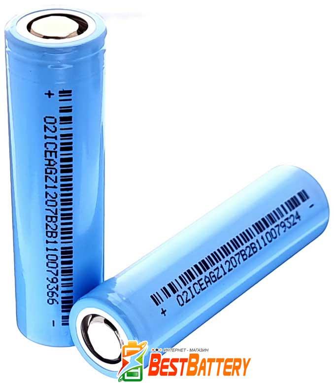 Аккумулятор 18650 DLG NCM18650-260 2600 mAh 3.7В, 5.2А, Li-Ion без защиты. (Аналог Samsung 26J).