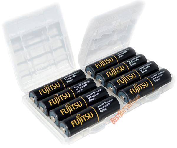 Аккумуляторы Fujitsu 2550 mAh (min 2450 mAh) HR-3UTHCEX в пластиковом боксе (АА).