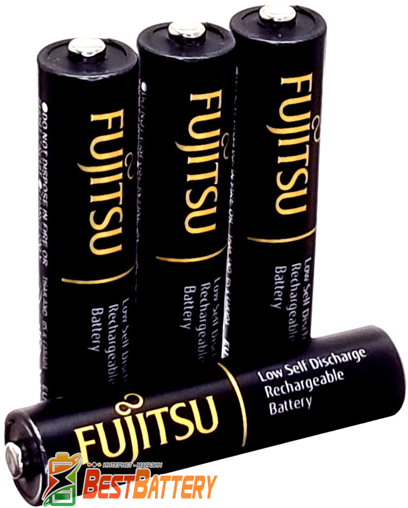 Минипальчиковые аккумуляторы Fujitsu Pro 950 mAh (min 900 mAh) без упаковки (AАА).