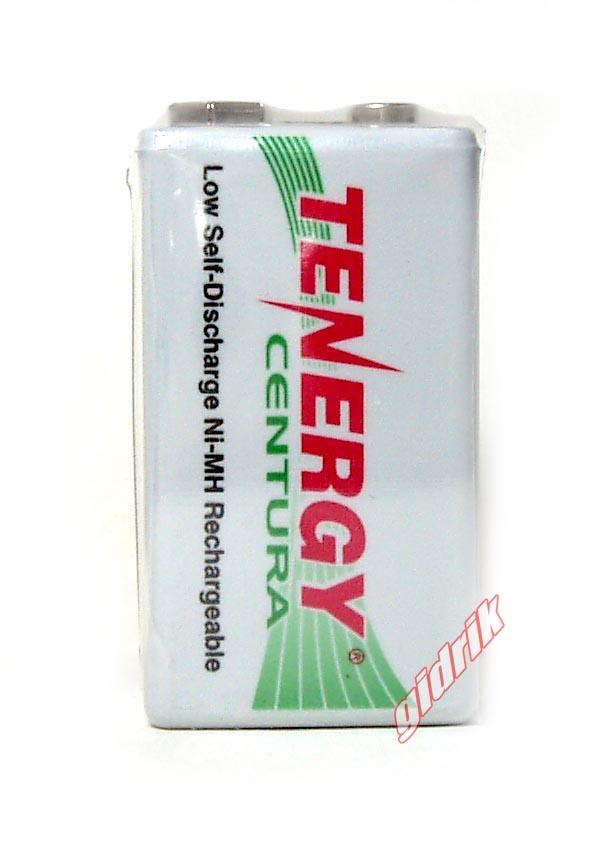 Tenergy Centura LSD 9V аккумуляторы Крона 200 mAh