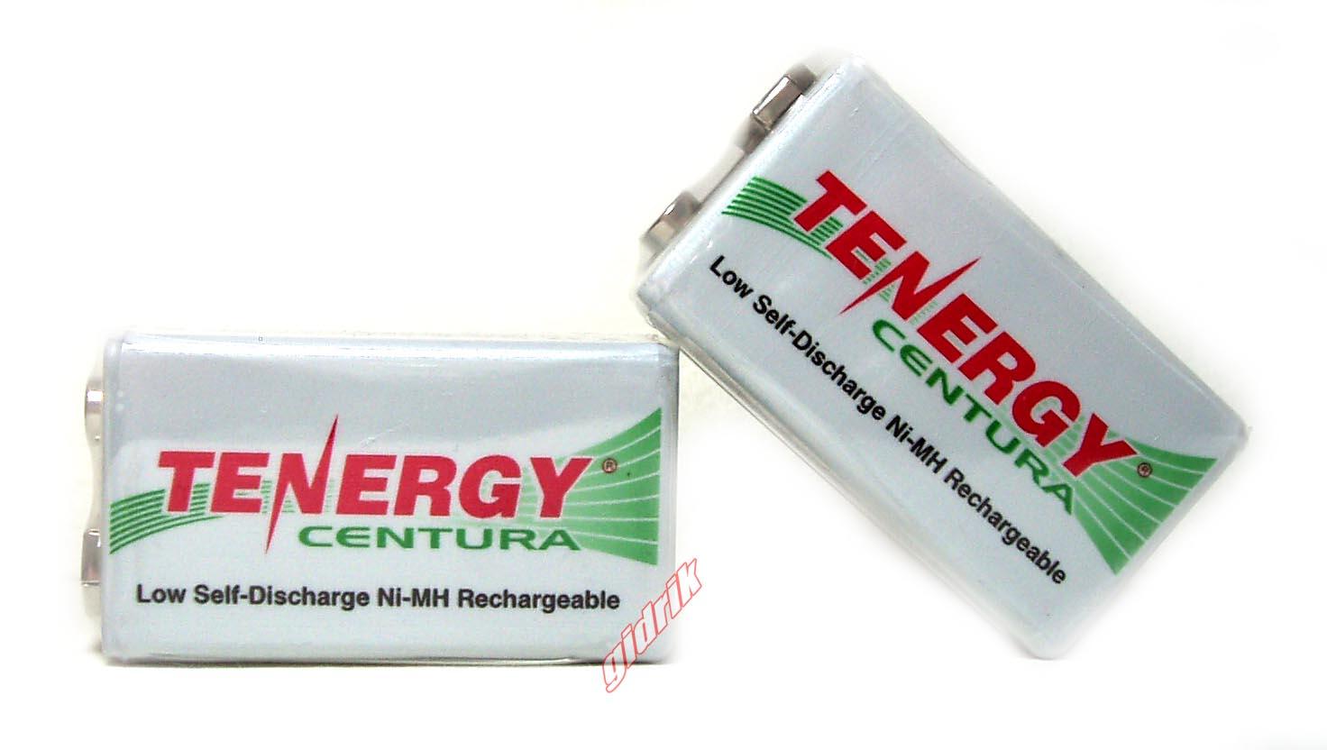 Аккумуляторы Tenergy Centura LSD Крона 9V 200 mAh.