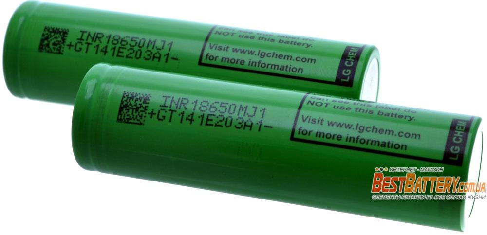 Аккумуляторы LG MJ1 3500 mAh Li-Ion.