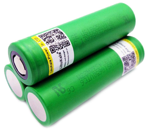 Liitokala VTC6 3000 mAh - высокотоковый 30A (60A) Li-ion аккумулятор формата 18650.