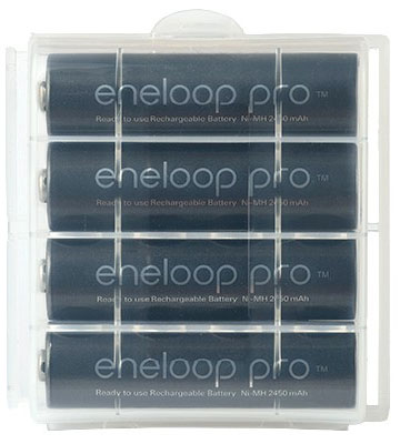 Panasonic Eneloop Pro 2600 mAh в боксе