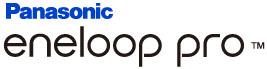 Panasonic Eneloop Pro 2550 mAh BK-3HCCE