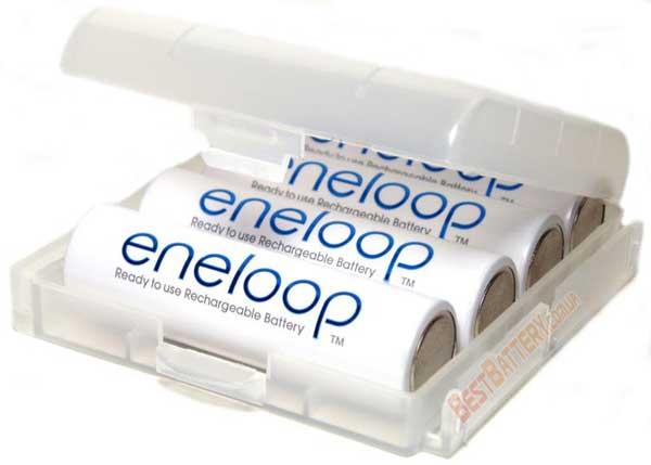 Panasonic Eneloop 2000 mAh (min. 1900 mAh) (BK-3MCCE) в боксе - 4 поколение аккумуляторов Eneloop