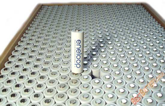 Пальчиковые АА аккумуляторы Panasonic Eneloop 2000 mAh (BK-3MCCE)