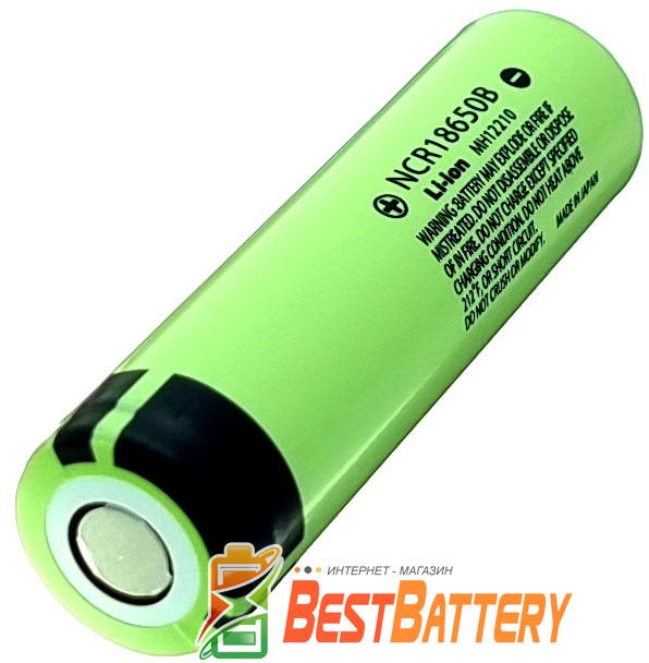 18650 Panasonic NCR18650B 3400 mAh Li-Ion аккумулятор высокой ёмкости без платы защиты.