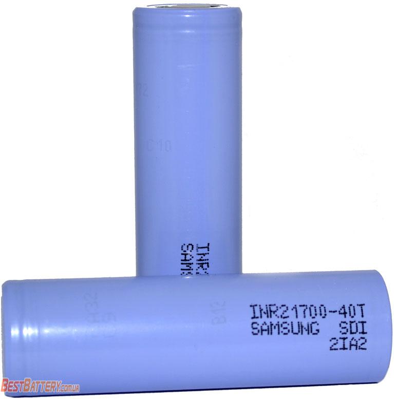 INR аккумуляторы Samsung 40T 4000mAh 21700.