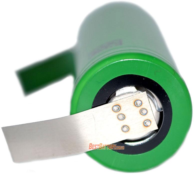 Li-Ion 18650 аккумуляторы Sony / Murata VTC5A 2600mAh 35A (70А) с лепестками под пайку.