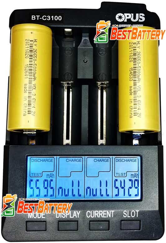 Аккумулятор 26650 Soshine 5000 mAh 3.7В реальная ёмкость.
