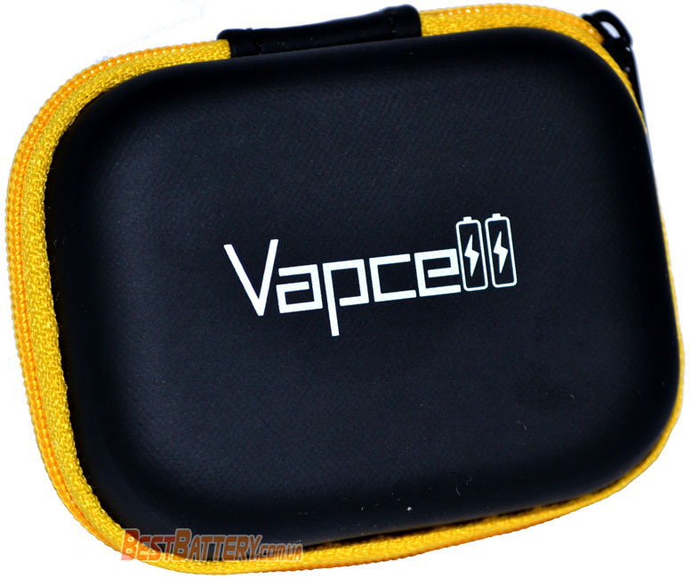 Vapcell INR 18650 K30 15A (30A) 3000mAh футляр для хранения аккумуляторов 18650.