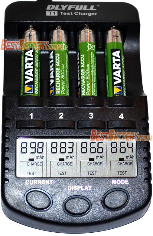 Ёмкость минипальчиковых аккумуляторов Varta Pro Power ААА.