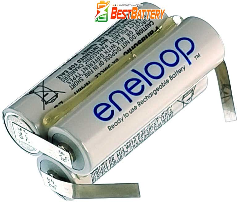 Аккумуляторная сборка Panasonic Eneloop на 3,6В 2000 mAh 3S
