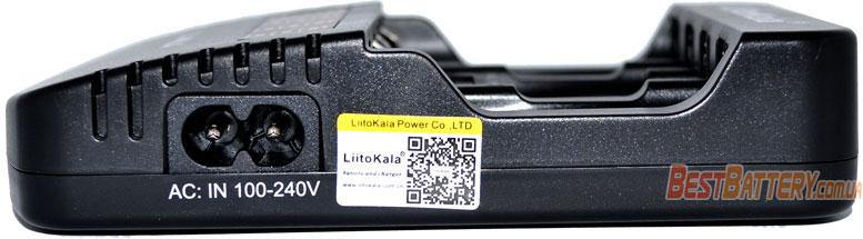 LiitoKala Lii-NL4 QR код на зарядном устройстве.