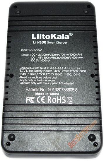 Комплект поставки LiitoKala Lii 500 Engineer