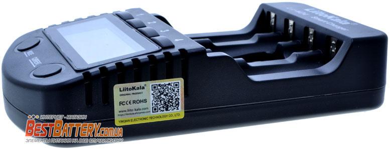 Зарядное устройство Liitokala Lii ND4 имеет фирменную защиту от подделок.