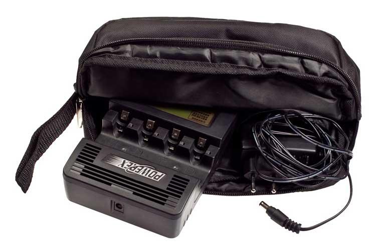 Maha Powerex MH C9000 и фирменная сумка Powerex