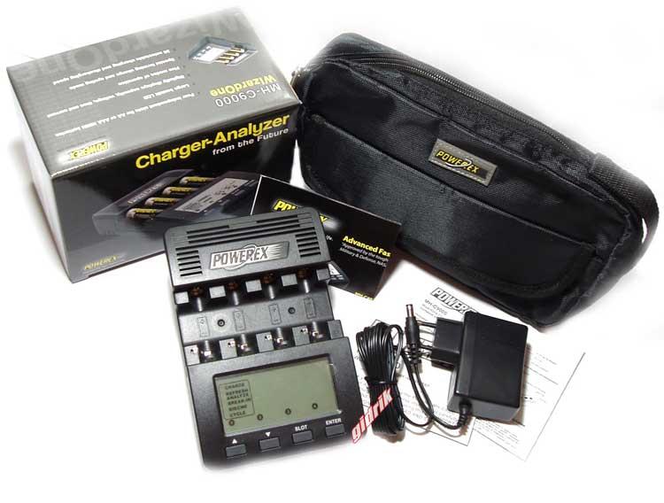 Maha Powerex MH C 9000 + фирменная сумка Maha