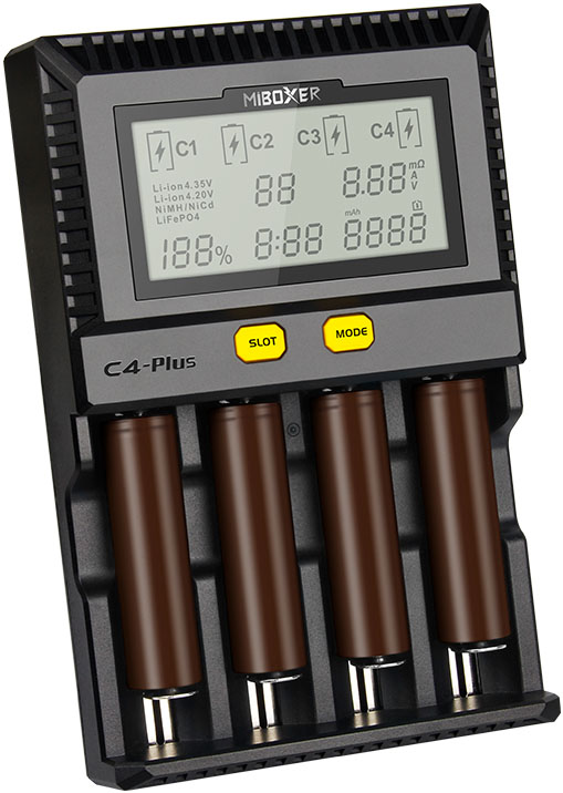 Miboxer C4 Plus самая новая версия универсального зарядного устройства.