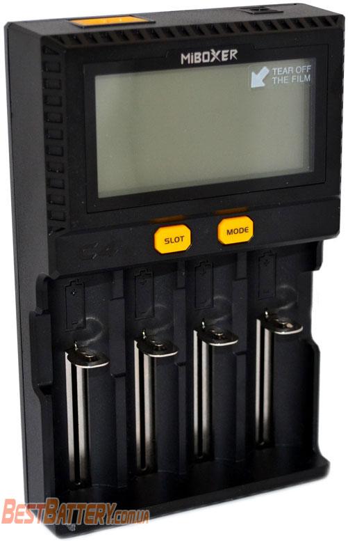 Зарядное устройство Miboxer C4 v3 новая версия.