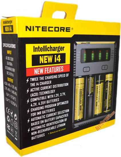 Зарядное Nitecore Intellicharger NEW i4