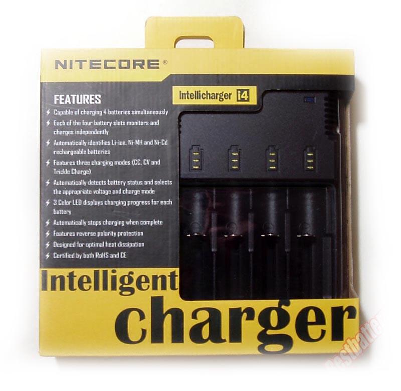 nitecore intellicharger i4 v2