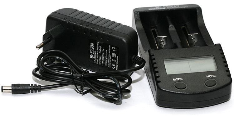 Power Plant PP-EU204 - универсальное зарядное устройство для Ni-Mh/Ni-Cd/Li-Ion аккумуляторов с функцией Power Bank.