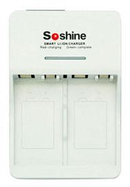 Soshine SC-V1 - универсальное зарядное устройство для Li-ion, Ni-Mh и Ni-Cd аккумуляторов типа Крона