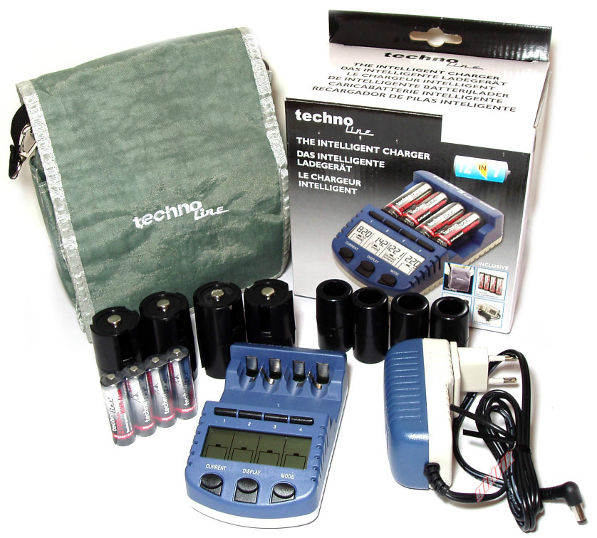 Technoline BC-1000 зарядное устройство для АА, ААА